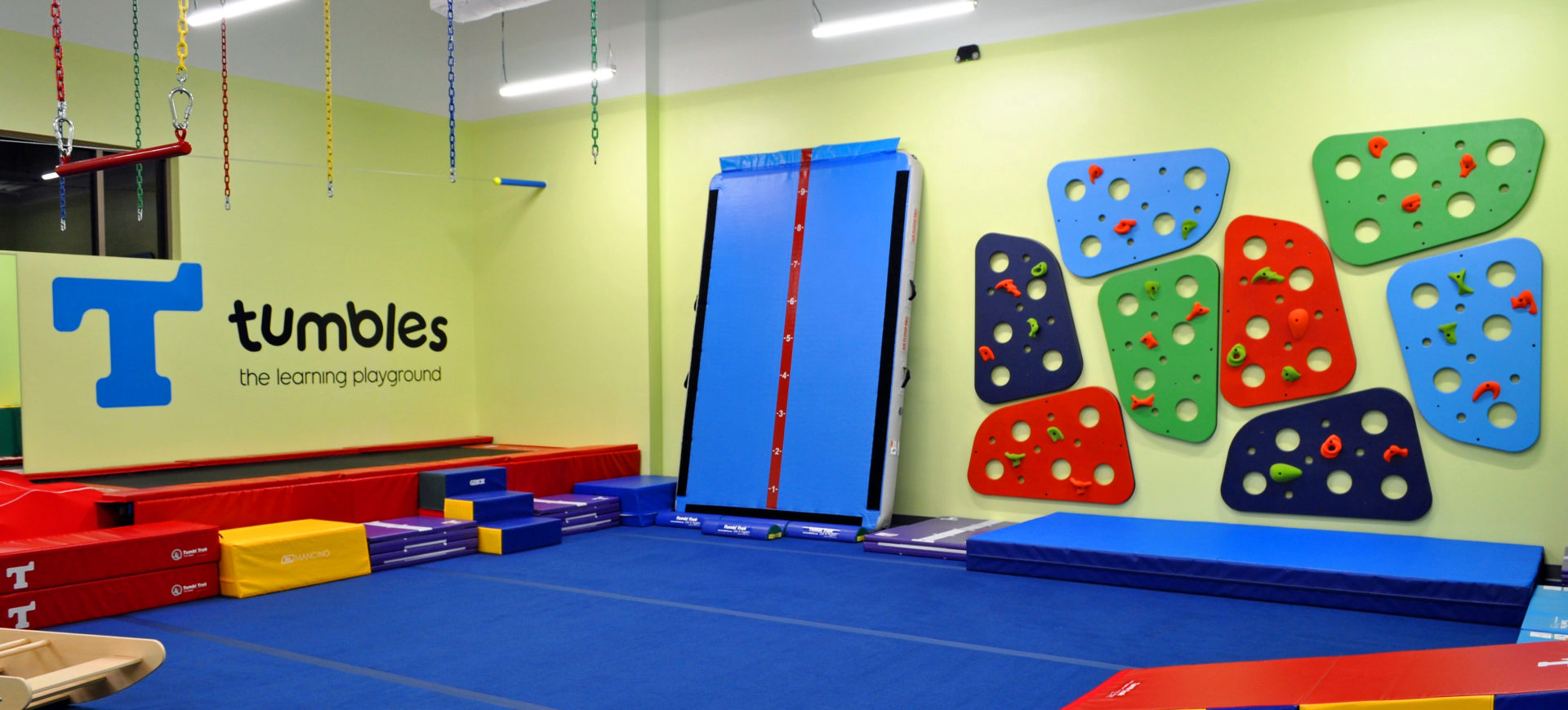 Indoor playground at Tumbles