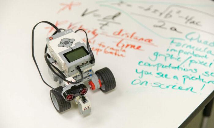 steam robotics kids playground tumbles